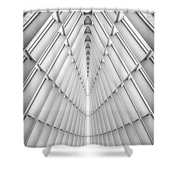 Symmetry Shower Curtain by Scott Norris