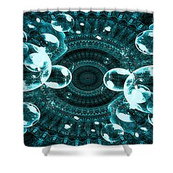 Shower Curtain featuring the digital art Symphonic by Fine Art By Andrew David