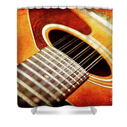 Symphony In Twelve Shower Curtain by Lincoln Rogers