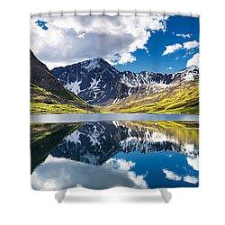 Symphony Lake  Shower Curtain