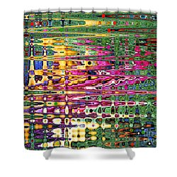 Shower Curtain featuring the photograph Synapse by Diane E Berry
