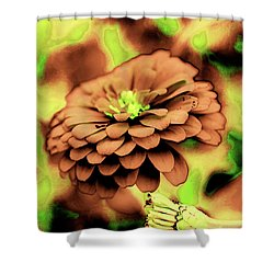 Synaptic View Shower Curtain by Dennis Baswell