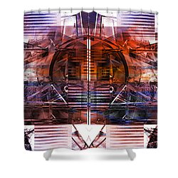 Synchronize Shower Curtain
