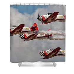 T-6 Texan Shower Curtain