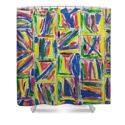 Artwork On T-shirt - 009 Shower Curtain