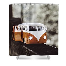 T1 Volkswagen Shower Curtain