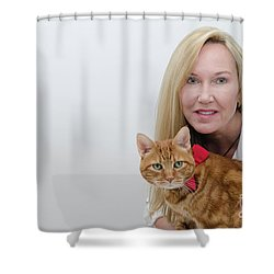 Tabasco And Molly 1 Shower Curtain