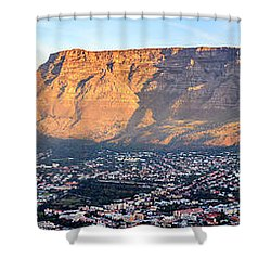 Shower Curtain featuring the photograph Table Mountain by Alexey Stiop