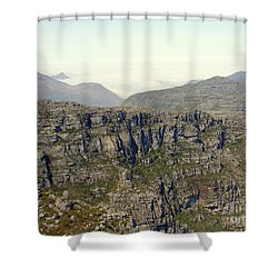 Table Rock View Shower Curtain