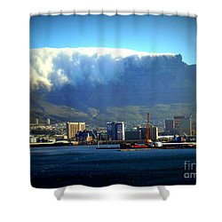 Table Rock With Cloud Shower Curtain