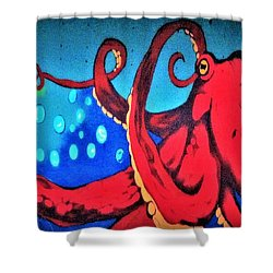 Tacoma Octopus  Shower Curtain