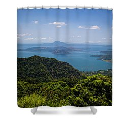 Tagaytay Ridge, Philippines Shower Curtain