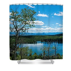 Taggart Lake Shower Curtain