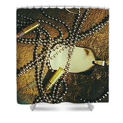 Shower Curtain featuring the photograph Tagging The Fallen by Jorgo Photography - Wall Art Gallery