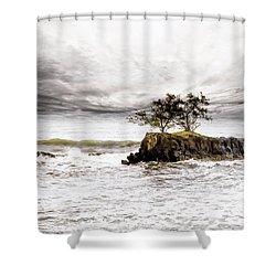 Gorgeous Tahiti Shower Curtain