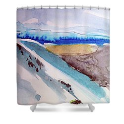 Tahoe City Shower Curtain
