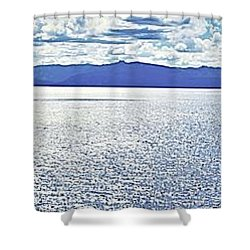 Tahoe From The East Shore Shower Curtain