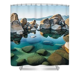 Tahoe Reflections Shower Curtain