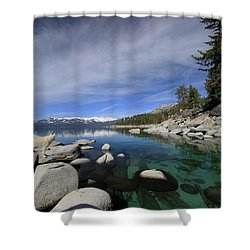 Tahoe Wow Shower Curtain