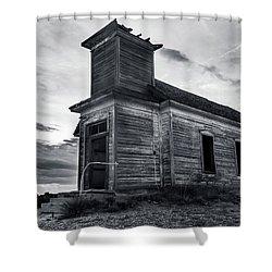 Taiban Presbyterian Church, New Mexico Shower Curtain