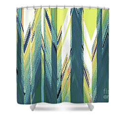 Taiga Forest Shower Curtain