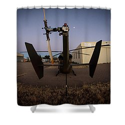 Tailblade Shower Curtain by Paul Job