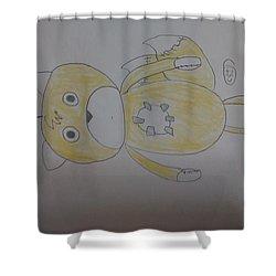 Tailsdoll Shower Curtain
