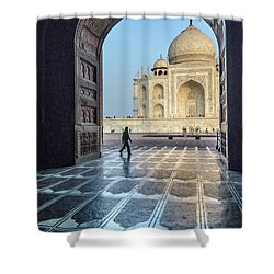 Taj Mahal 01 Shower Curtain