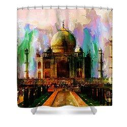 Taj Mehal 009 Shower Curtain