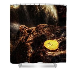 Take A Deep Breath Shower Curtain by Rick Furmanek