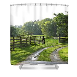 Take A Walk Shower Curtain