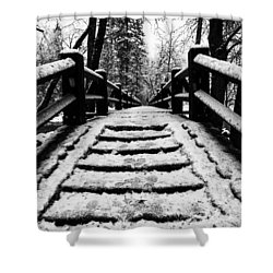 Shower Curtain featuring the photograph Take A Walk With Me by Lora Lee Chapman