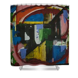Take Me There Shower Curtain by Jose Rojas