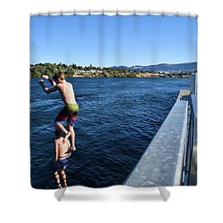 Take Our Picture 3 Shower Curtain