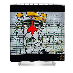 Take The Crown Shower Curtain