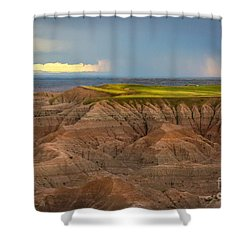 Take The High Road Shower Curtain