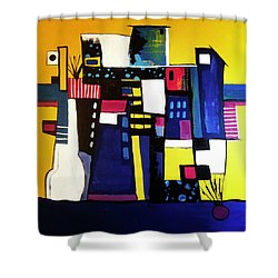 Take The Stairs Shower Curtain