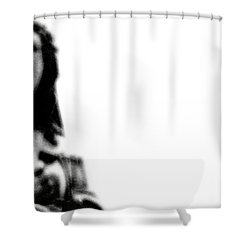 Take Up Your Cross Shower Curtain by Linda Shafer