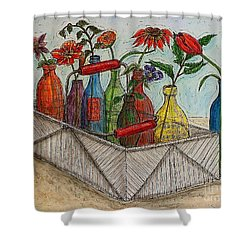 Take Your Pick Shower Curtain