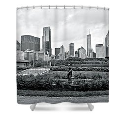 Shower Curtain featuring the photograph Taken From Buckingham by Frozen in Time Fine Art Photography