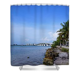 Taking A Look Shower Curtain