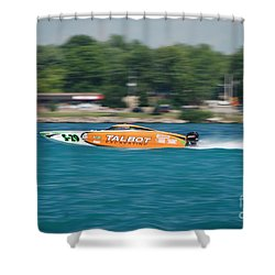 Talbot Offshore Racing Shower Curtain