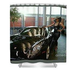 Talisa Hartleys Sports Cars And Big Muscles Shower Curtain