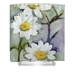 Tall Daisies Shower Curtain