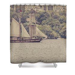 Tall Ship - 2 Shower Curtain