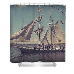 Tall Ship - 4 Shower Curtain