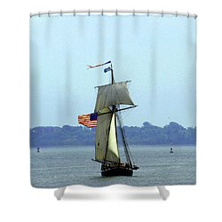 Tall Ships Boston 2017 Shower Curtain