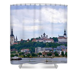 Tallinn Estonia. Shower Curtain