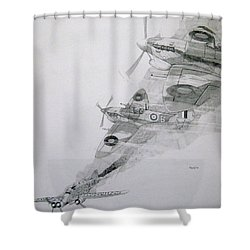 Tally-ho Shower Curtain