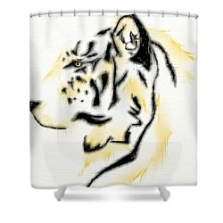 Talon Shower Curtain